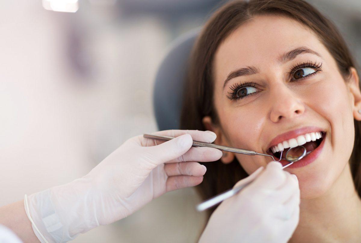 Prophylaxe beim Zahnarzt